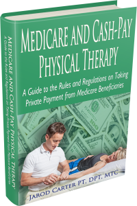 Cash PT Medicare eBook 3D Hardbound Image jarod carter physical therapy